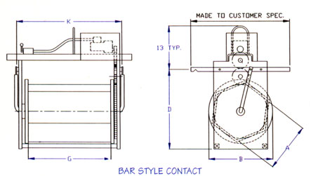 Bar Style Contact